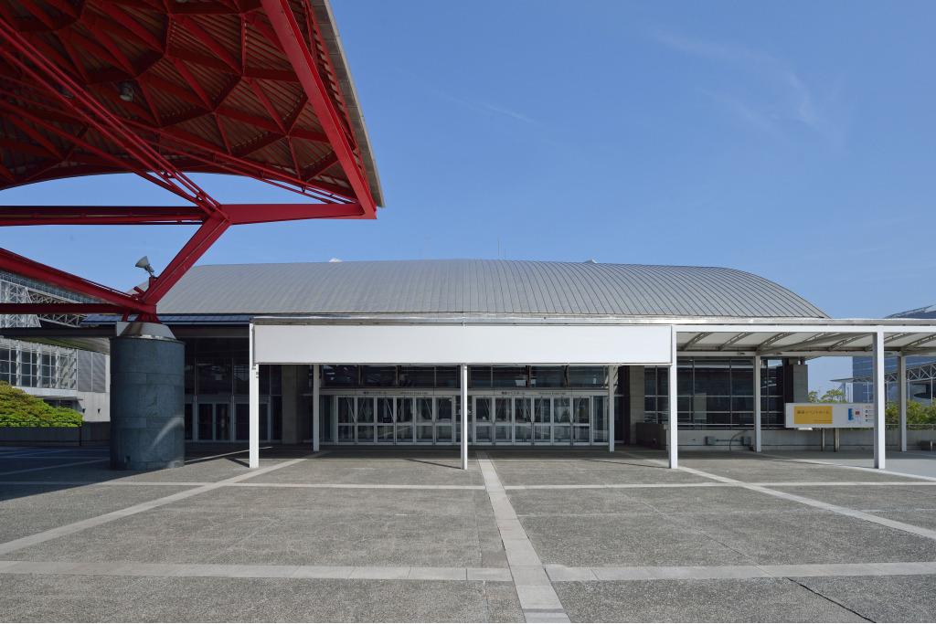 幕張イベントホール入口