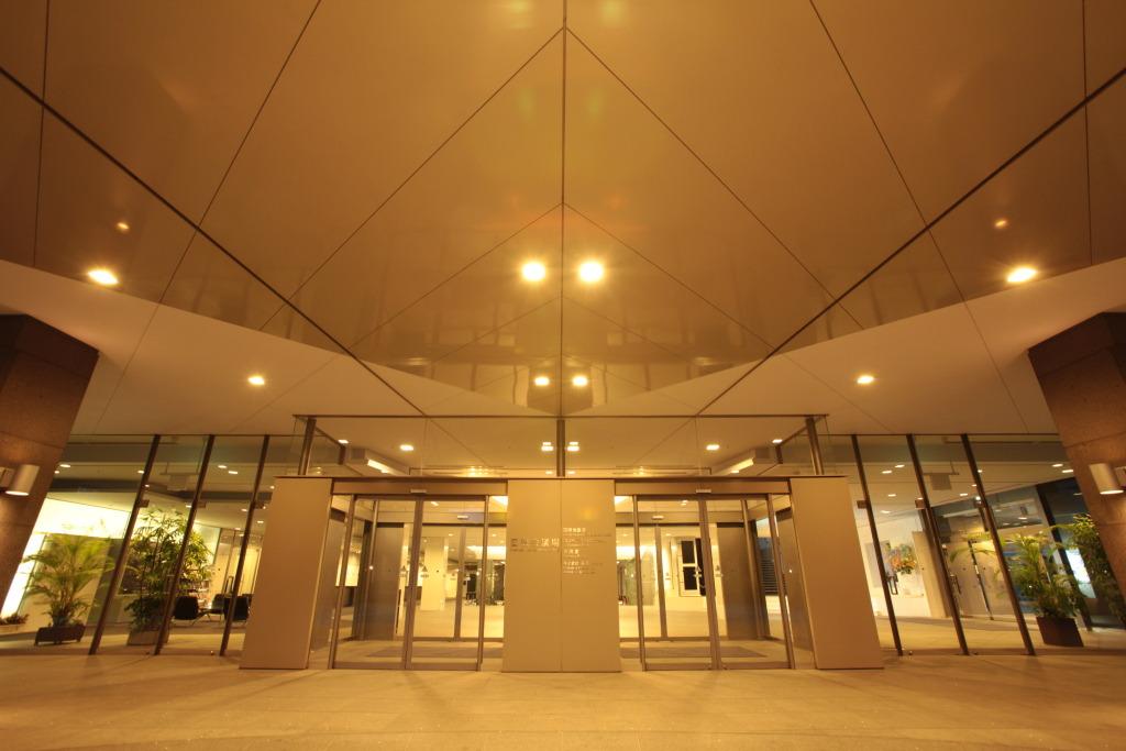 国際会議場入口