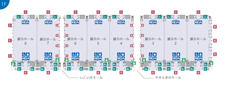 https://www.m-messe.co.jp/organizers/static/images/guide/exhibitionhall/ie1-8/map001.jpg
